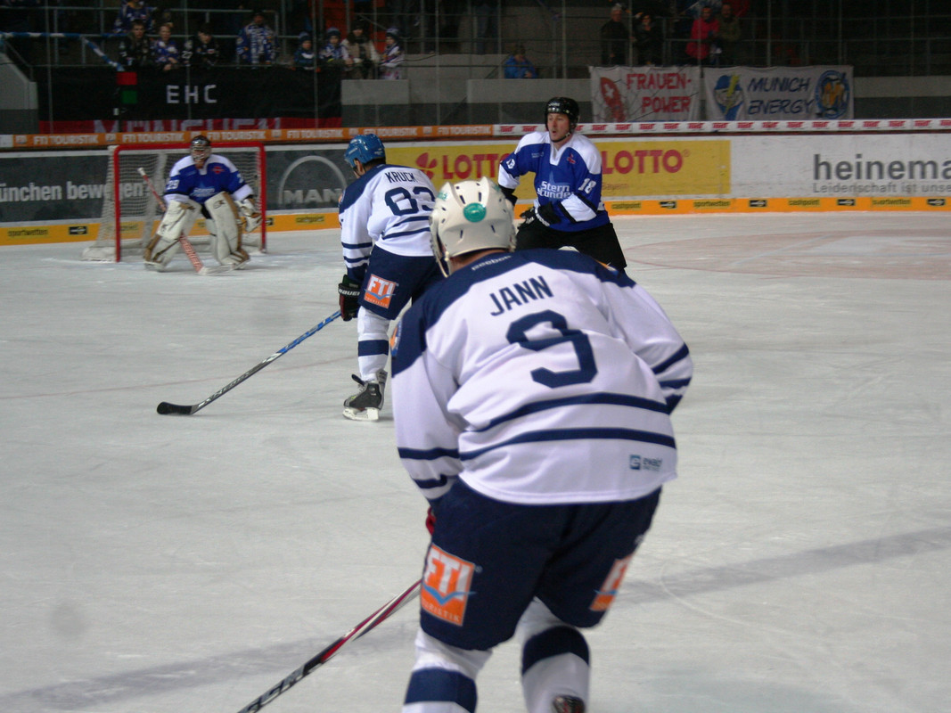 EHC Red Bull Tor in Gefahr